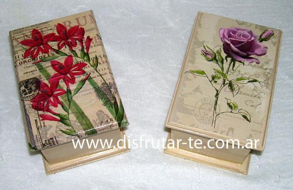 Cajas de te - Cajas decoradas a mano ...
